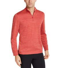club room men's quarter-zip tech sweatshirt, created for macy's