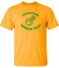 jamaican bobsled team jamaica reggae olympics winter funny men's tee shirt 754