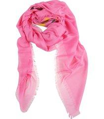 gucci logo shawl