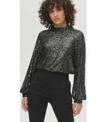 topp nicole blouse ls