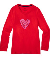 maglia pigiama in cotone biologico (rosso) - bpc bonprix collection