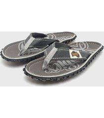 sandalia gris gumbies
