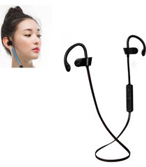 audífonos bluetooth deportivos, h5 inalámbrico bluetooth 4.1 auriculares estéreo de control de voz auricular con micrófono manos libres para sony iphone samsung