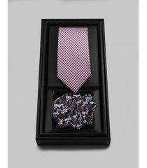 krawat i poszetka - zestaw prezentowy s4