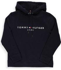 tommy hilfiger blend cotton sweatshirt