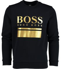 hugo boss sweater salbo met stretch 50434921/402