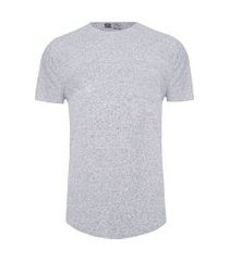 t-shirt masculina eco wide ribbed - cinza