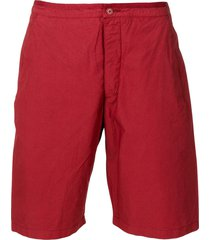romeo gigli pre-owned classic bermuda shorts - red