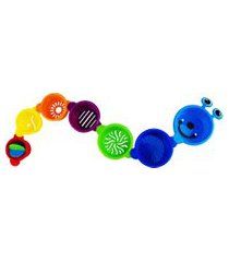 conjunto copos de empilhar pura diversão animal divertido 7 pçs colorido