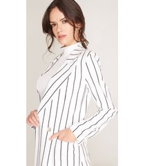 blazer lino blanco 6