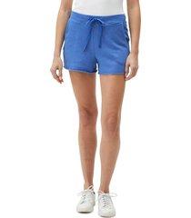 women's michael stars otto cutoff shorts, size x-small - blue