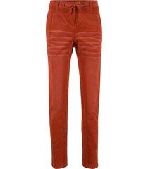 pantaloni boyfriend in velluto (marrone) - bpc bonprix collection
