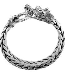 'legends naga' sterling silver bracelet