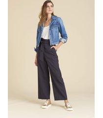 elice belted wide-leg pants