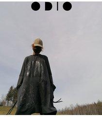 grafitowa tunika/ sukienka no waste