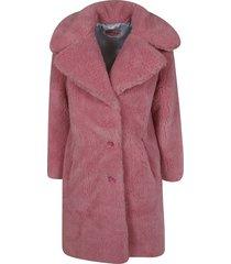 chiara ferragni mid-length fur coat