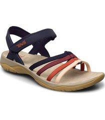 w elzada sandal shoes summer shoes flat sandals multi/mönstrad teva