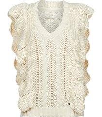 trui cream annolina knit slopover