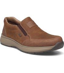 b7654-24 loafers låga skor brun rieker