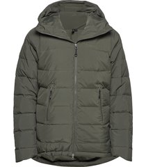 stranda down hybrid jkt outerwear sport jackets groen bergans