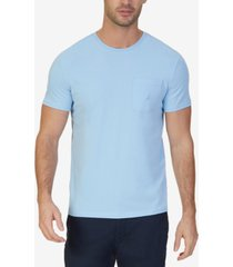 nautica men's big & tall anchor pocket t-shirt
