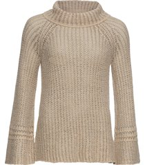 maglione oversize (beige) - rainbow