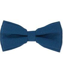 hucklebones london bow-shaped hair clip - blue