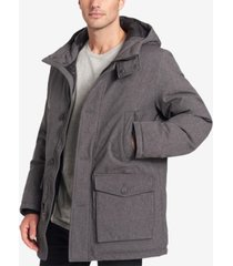 dockers men's hooded city parka