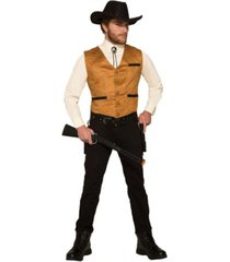 buyseasons men's cowboy vest adult costume