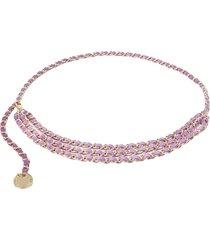 b-low the belt gissel mini chain belt - purple