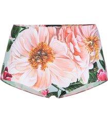 dolce & gabbana high-waisted bikini bottoms - pink