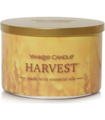 novelty harvest 3-wick jar candle, 18 oz