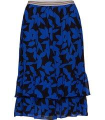 elvira knälång kjol blå stella nova