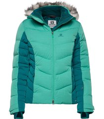 icetown jkt w outerwear sport jackets blå salomon