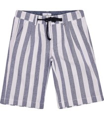 berna striped shorts