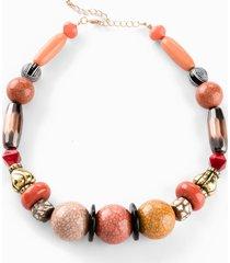 collana statement (arancione) - bpc bonprix collection