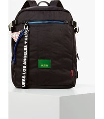 plecak z charmsem z logo model new milano
