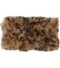 marcus adler women's rabbit fur headband - brown