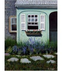 "paul walsh cape cod garden canvas art - 27"" x 33.5"""