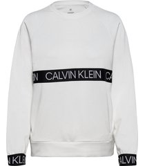 pullover sweat-shirt trui wit calvin klein performance