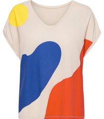 landscape t-shirt t-shirts & tops short-sleeved multi/patroon bobo choses