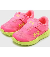 zapatilla ua inf surge 2 ac fucsia under armour