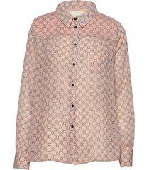 molly shirt overhemd met lange mouwen roze lollys laundry