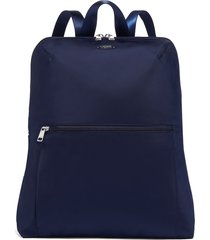 tumi voyageur - just in case nylon travel backpack - blue