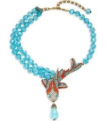 heidi daus women's big fishy statement necklace