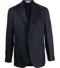 boglioli long-sleeve blazer - blue
