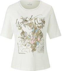 shirt met ronde hals en korte mouwen van rabe multicolour