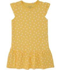 vestido amarillo-blanco name it