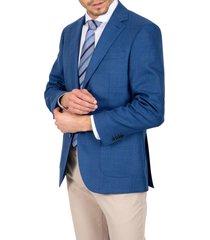chaqueta formal travel azul trial