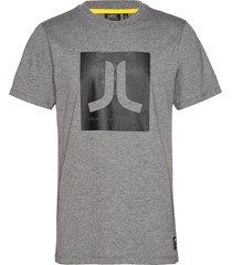 max icon t-shirt t-shirts short-sleeved grå wesc